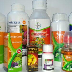 Інсектициди та акарициди